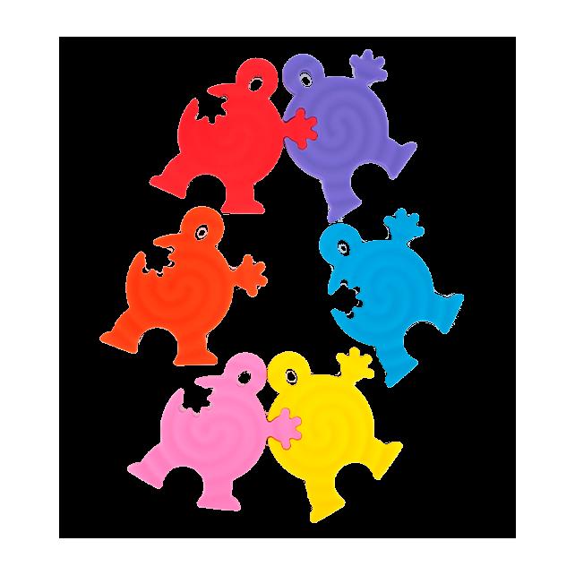 Hand in Hand - Dessous de plat Multicolore