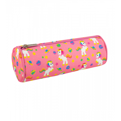 Round pencil case - Planete Ecole - Unicorn