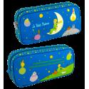 Trousse rectangulaire - Planete Ecole Le Petit Prince Bleu