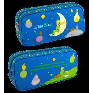 Rechteckiges Federmäppchen - Planete Ecole - Le Petit Prince Blau