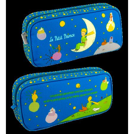 Rechteckiges Federmäppchen - Planete Ecole Le Petit Prince Blau