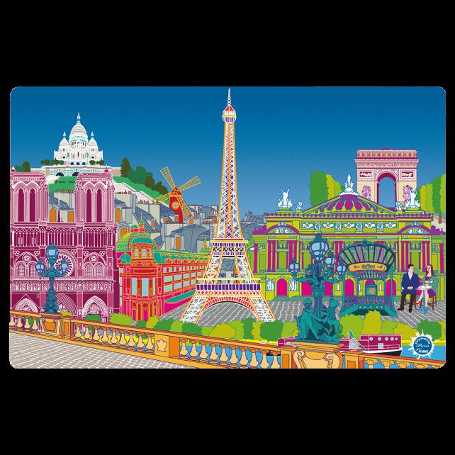 Tovaglietta americana - Set my city Paris new