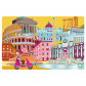 Placemat - Set my city Rome