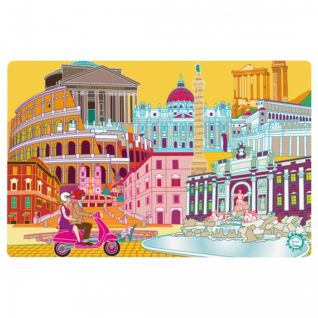 Tischset - Set my city Rom