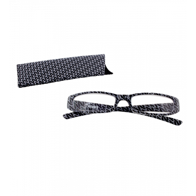 Korrekturbrille - Lunettes X4 Rectangle Eiffel N&B