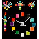Uhr mit 12 Würfeln - Tic Tac