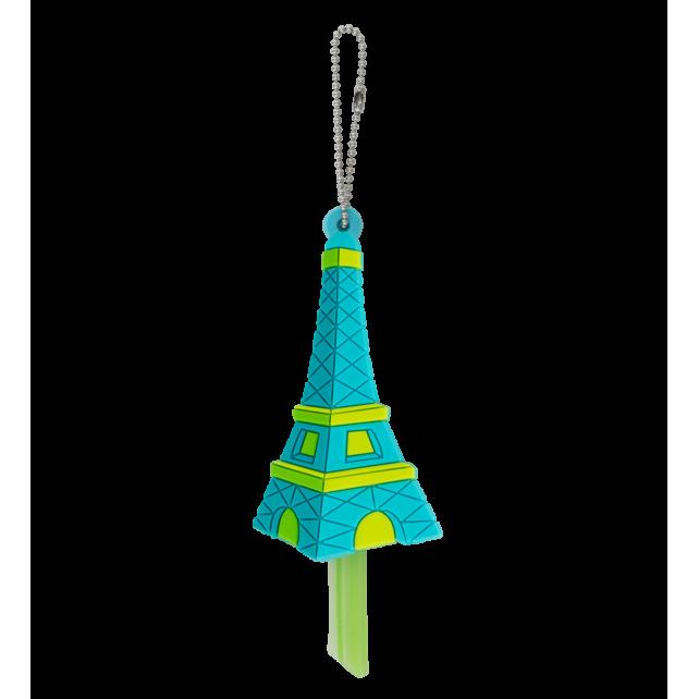 Anicover - Protège clés Tour Eiffel Bleue