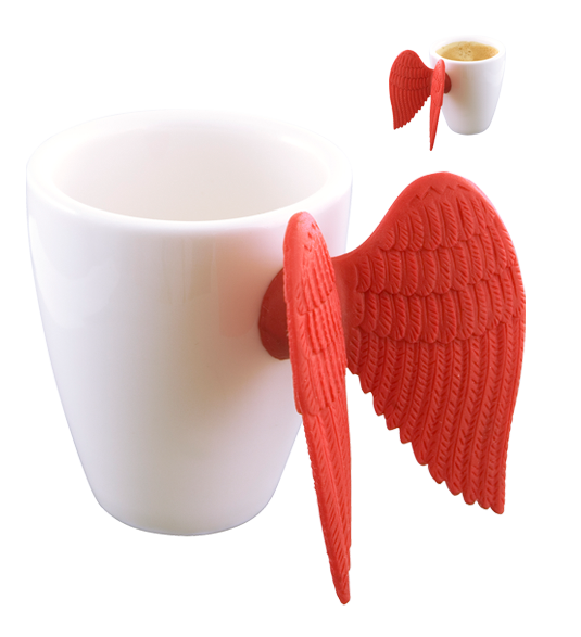 Angel Express - Tasse Espresso Red