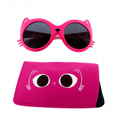Sunglasses for kids - Lunettes Cat - Pink