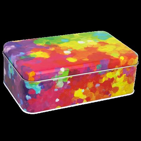 Rectangular metal box - Cantine Palette