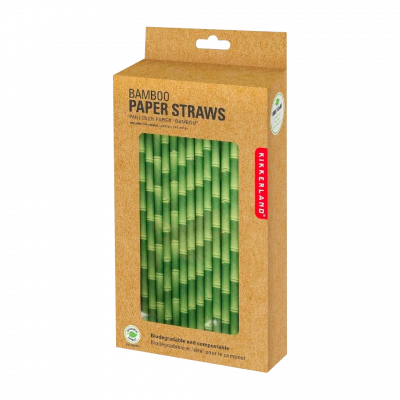 Set of 144 paper straws - Papayou