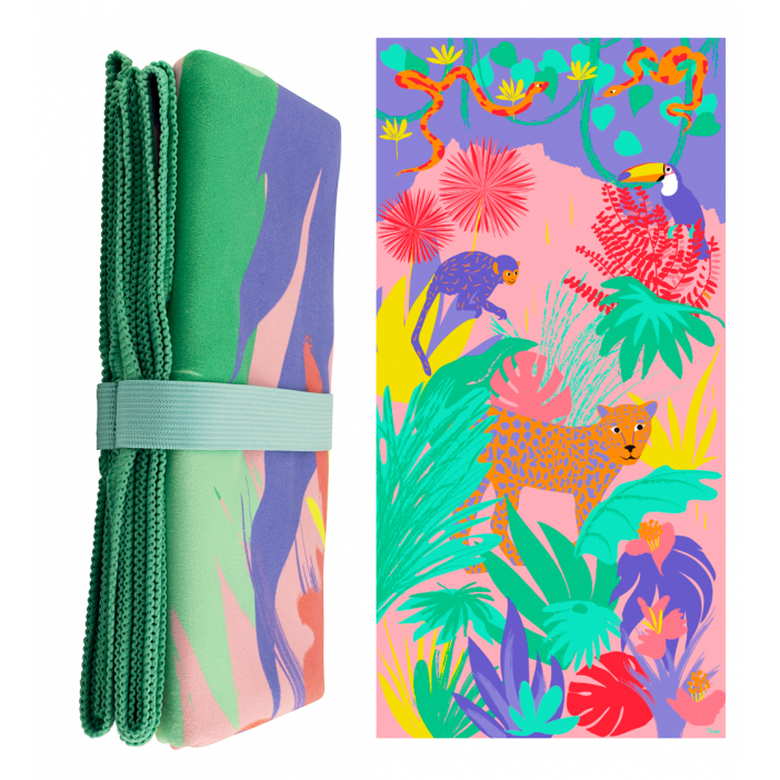 Body DS - Serviette microfibre Jungle