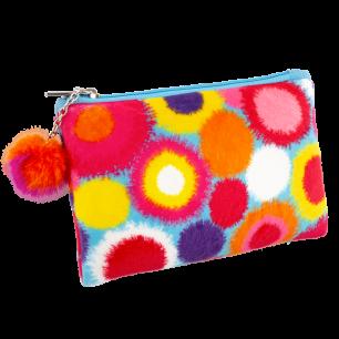 Microfibre pouch - Velvet Zip