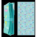 Microfibre towel - Body DS Hexableu