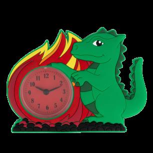 Wecker - Funny Clock - Dragon Vert