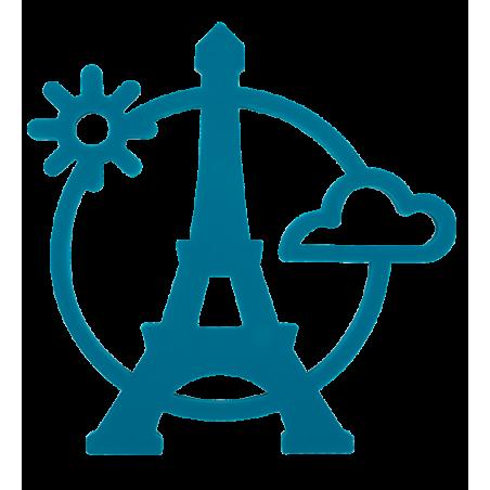 Topfuntersetzer - Magnetic Eiffel