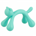 Masseur Chat - Yoga Turquoise
