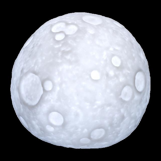 Lume da notte a forma di luna - Moon Light
