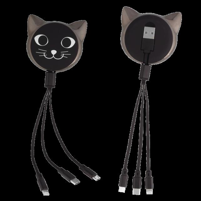USB-Kabel 3 en 1 - Connectech