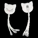 Câble rétractable 3 en 1 - Connectech