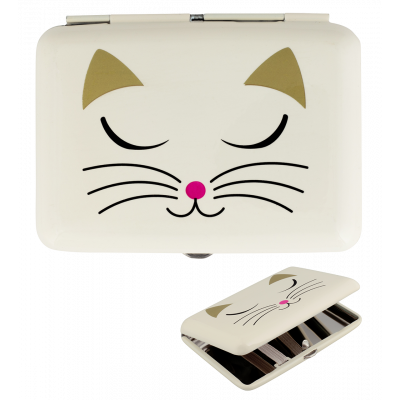 Boite / Étui à cigarettes - Cigarette Case - White Cat