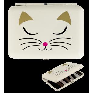 Zigarettenetui - Cigarette case - White Cat