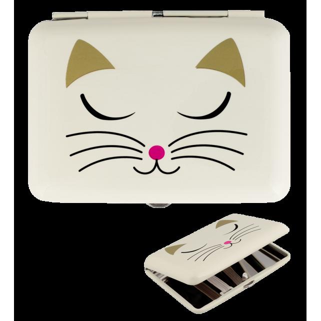 Zigarettenetui - Cigarette case White Cat