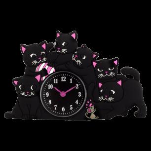 Wecker - Funny Clock - Katze