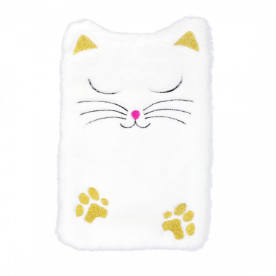 Wärmflasche - Hotly - White Cat