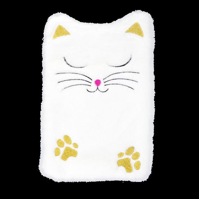 Wärmflasche - Hotly White Cat