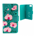 Coque à clapet pour iPhone 6, 6S, 7 - Iwallet 2 Vitrail Bleu