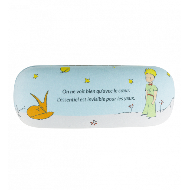 Astuccio rigido per occhiali - Beau Regard Le Petit Prince Blu