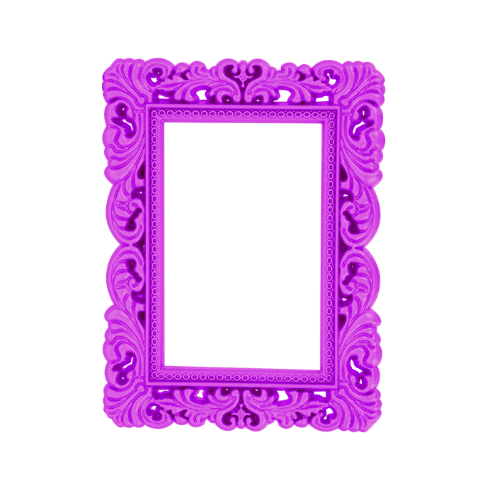 cadre photo magn tique magnetic frame violet pylones. Black Bedroom Furniture Sets. Home Design Ideas