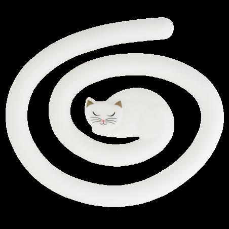 Topfuntersetzer - Miahot White Cat