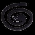 Topfuntersetzer - Miahot Black Cat