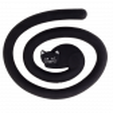 Trivet - Miahot Black Cat