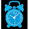 Mini Tiandi - Mini réveil Bleu