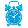 Mini Tiandi - Mini réveil Blue
