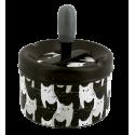 Push-button ashtray - Pousse Pousse Orchid Blue