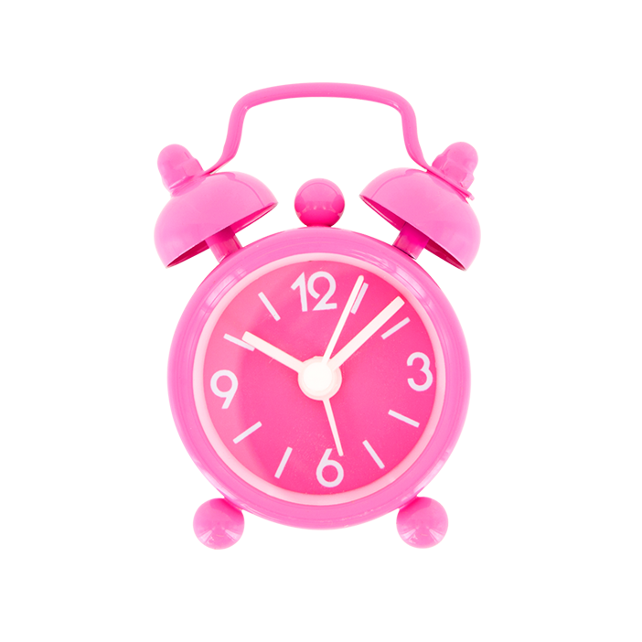 Mini tiandi mini réveil pink