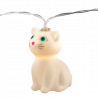 Lichterketten - Mummy Cat Lights