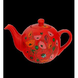 Teapot - Partea - Coquelicots
