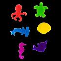 Set di 6 segnabicchieri - Happy Markers