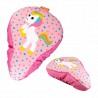 Bike Saddle cover - Happy Rider Licorne Rose