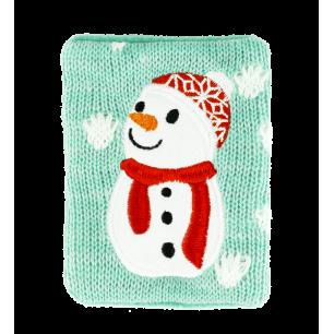Chaufferette main réutilisable - Warmly - Snowman