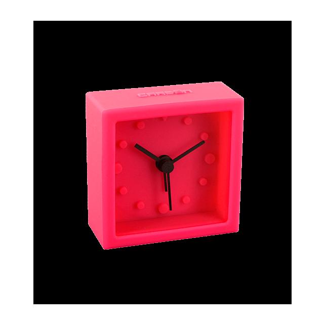 Mini square mini réveil pink