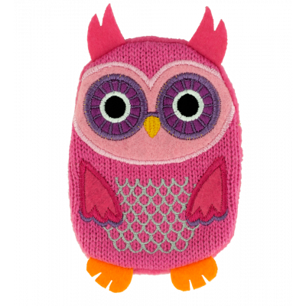 Hand warmer - Warmly - Pink Owl