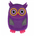 Hand warmer - Warmly Owl Pink