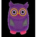 Hand warmer - Warmly Pink Owl