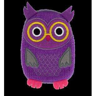 Hand warmer - Warmly - Purple Owl